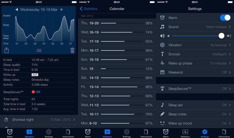 Sleep Cycle iOS