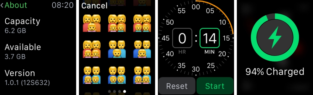 Apple watch OS 1.0.1 new changes