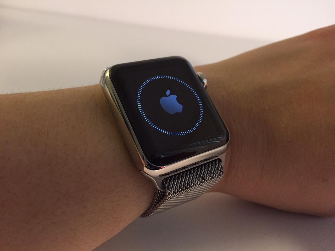 apple watch sync