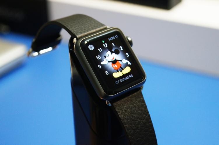 Griffin WatchStand - Apple Watch view