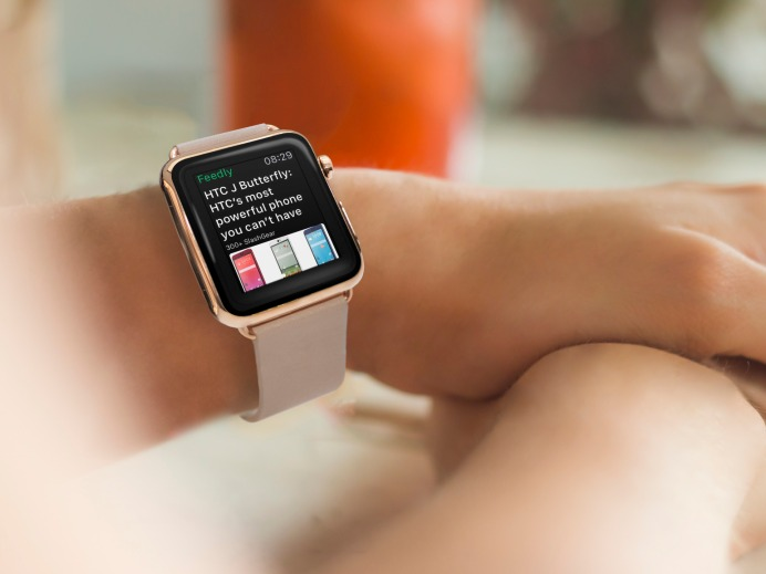 feedly apple watch