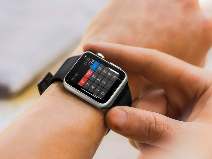 PCalc Apple Watch App