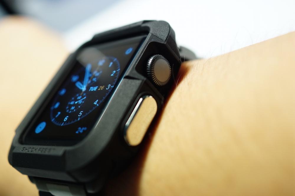 promo code 055a9 5dc60 Review: Spigen Apple Watch Case Rugged Armor – Superphen's Tech Blog
