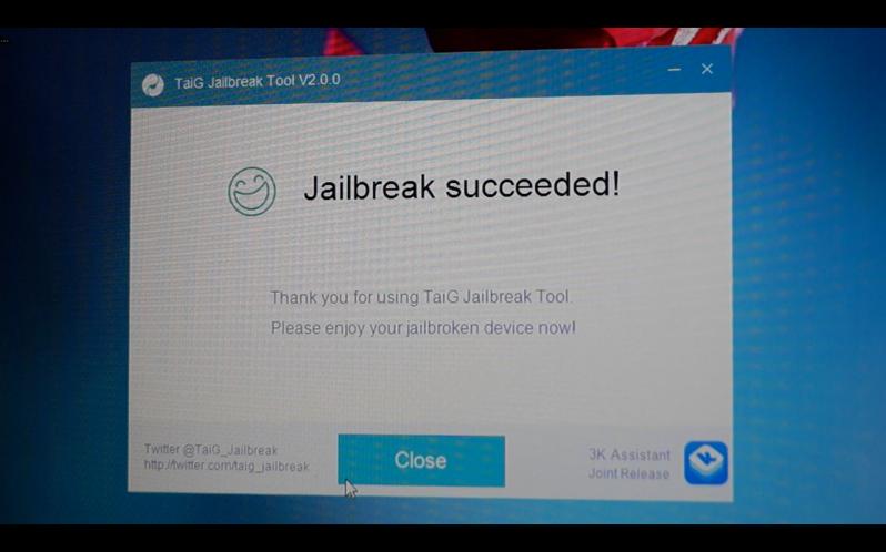 TaiG iOS 8.3 jailbreak 13