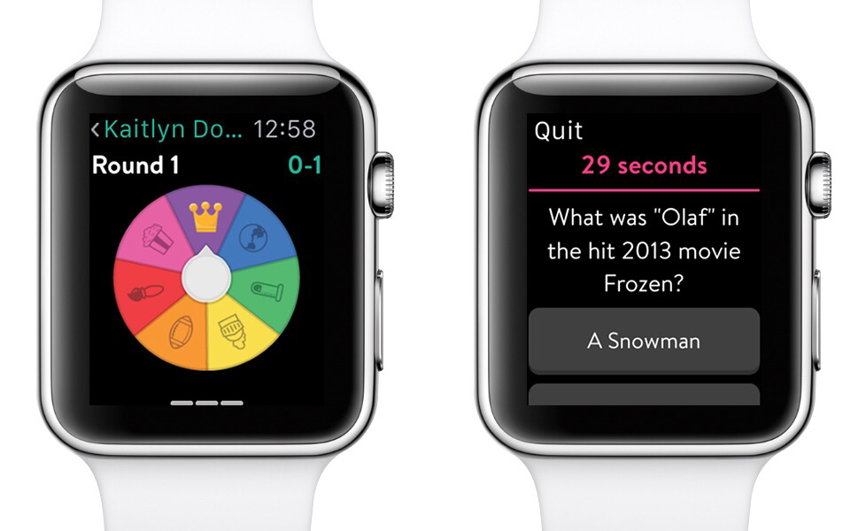 trivia crack apple watch
