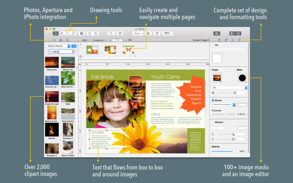 swift publisher 4 for mac brings el captain style interface and