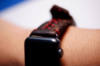 Baseball Red Stitching on watch 4