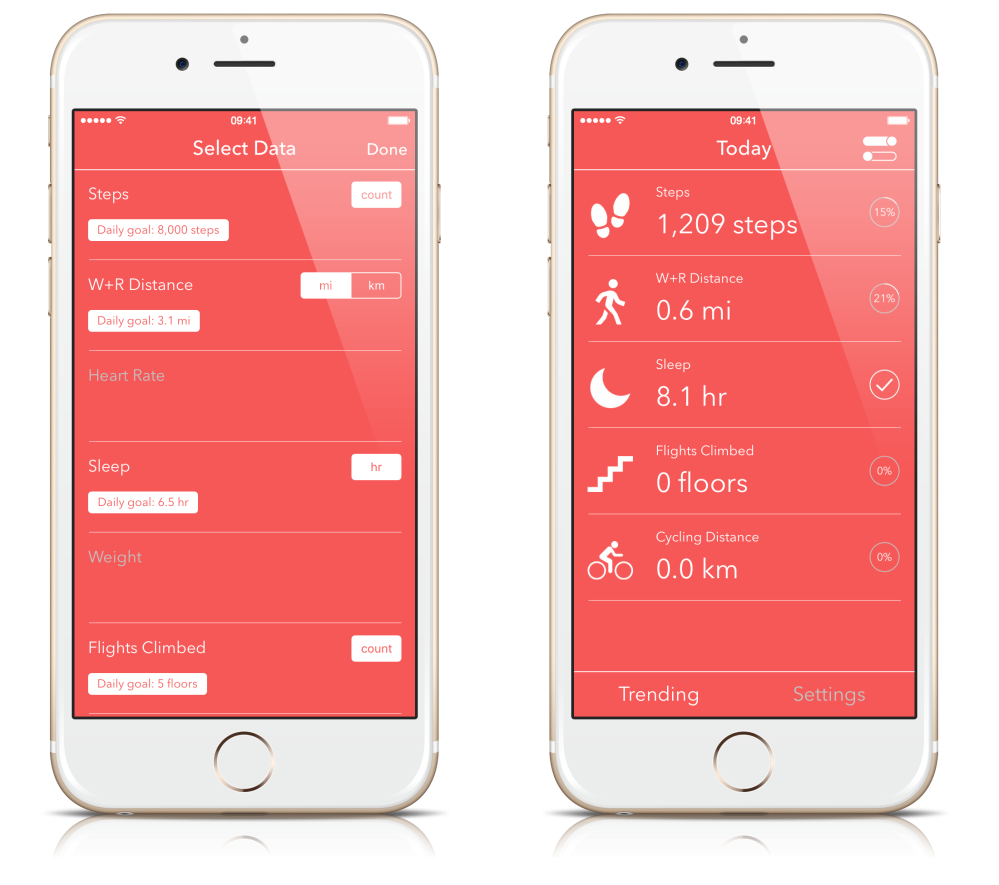 Health Dashboard For Apple App 1