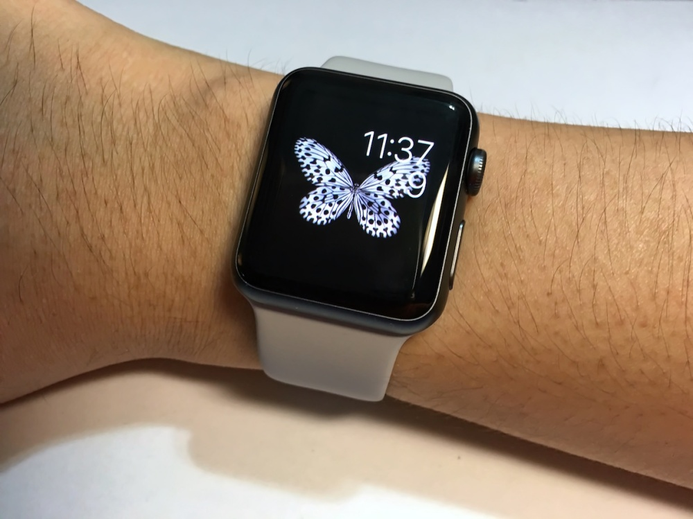 Apple Watch Sport Band Fog 7