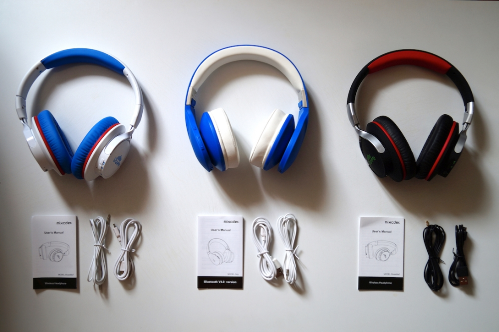Mixcder bluetooth headphones