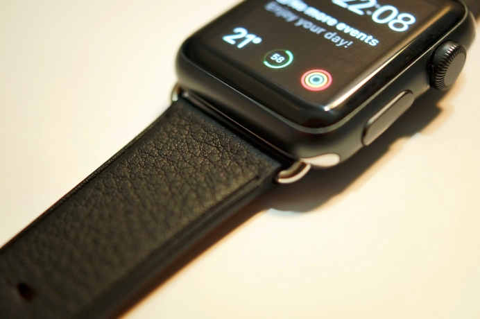 Apple Watch Classic buckle two-tone