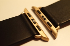 Monowear Black Leather + Gold Buckle 07