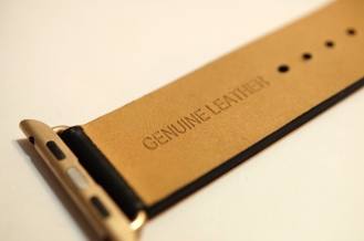 Monowear Black Leather + Gold Buckle 03