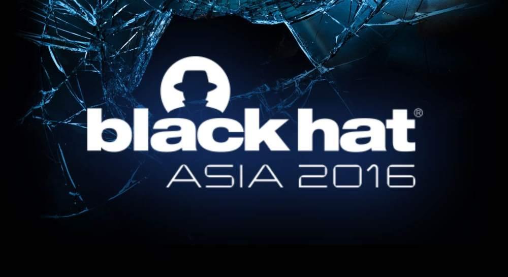 Black Hat Asia 2016