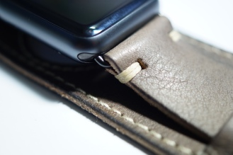 BuonGustoItaliano Handmade Leather Cuff Apple Watch Band 02