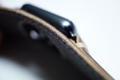 BuonGustoItaliano Handmade Leather Cuff Apple Watch Band 07