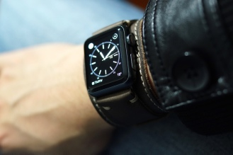 BuonGustoItaliano Handmade Leather Cuff Apple Watch Band 11