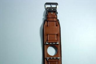 BuonGustoItaliano Handmade Leather Cuff Apple Watch Band 14
