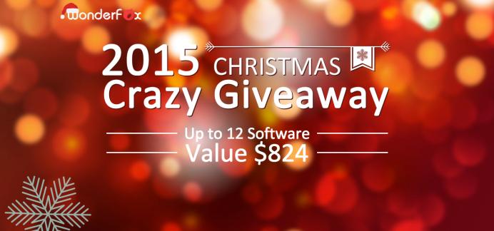 WonderFox Soft Xmas 2015 Giveaway