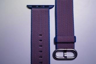 Apple Nylon Watch Band Royal Blue 09