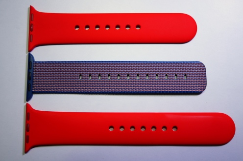 Apple Nylon Watch Band Royal Blue 17