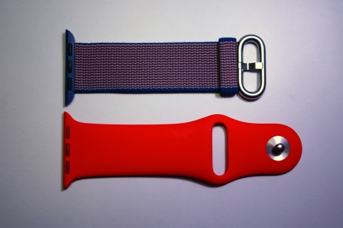 Apple Nylon Watch Band Royal Blue 18
