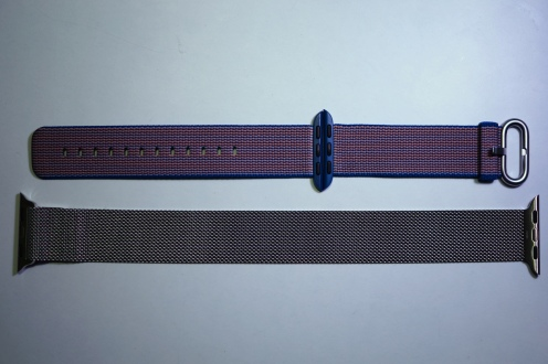 Apple Nylon Watch Band Royal Blue 19