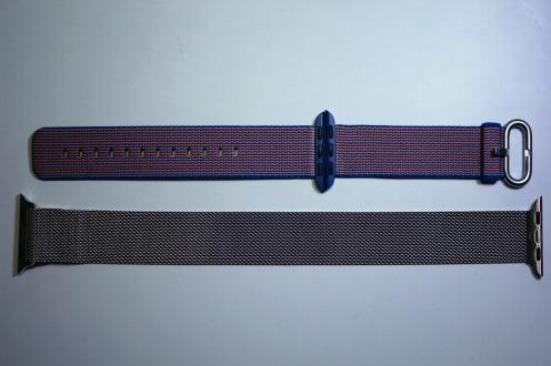 Apple Nylon Watch Band Royal Blue 19