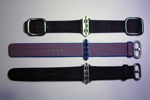 Apple Nylon Watch Band Royal Blue 20