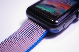Apple Nylon Watch Band Royal Blue 26