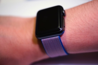 Apple Nylon Watch Band Royal Blue 32