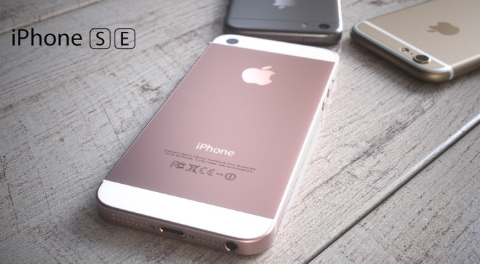 iphoen 5se rose gold