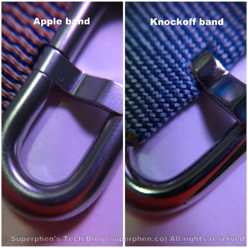 apple knockoff nylon band 08