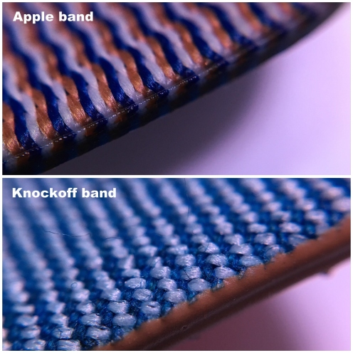 apple knockoff nylon band 10