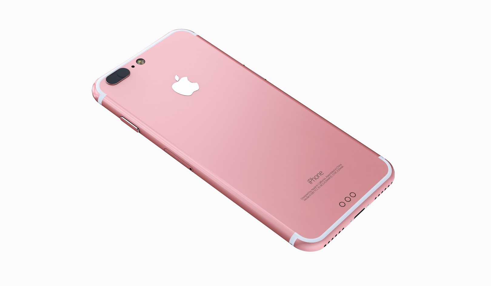 iphone 7 rose gold back panel leaked report claims same price for base model superphen 39 s tech. Black Bedroom Furniture Sets. Home Design Ideas