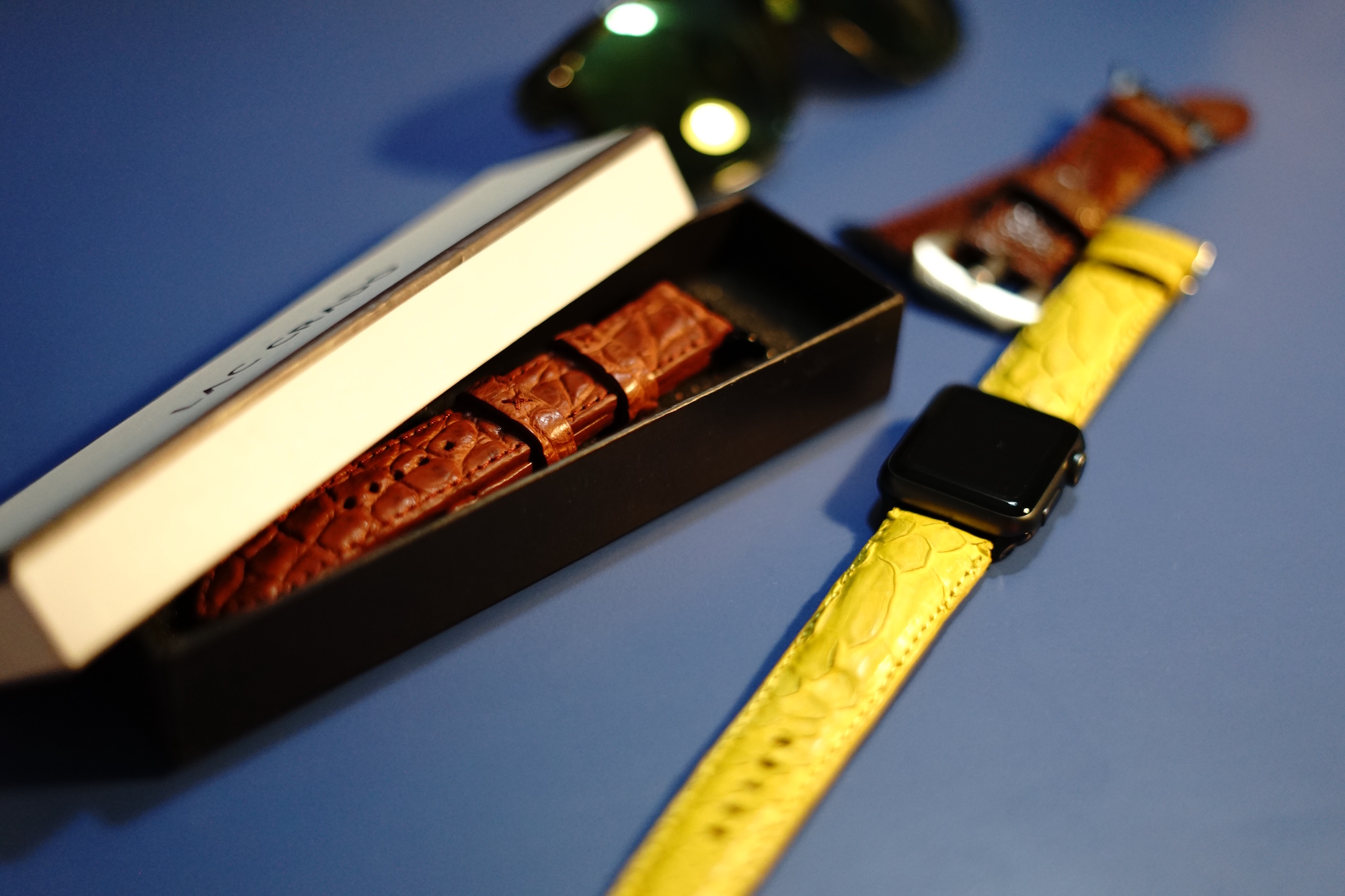 Lac Crado Leather Apple Watch Bands