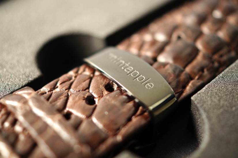 Mintapple Genuine Crocodile Apple Watch Strap 03