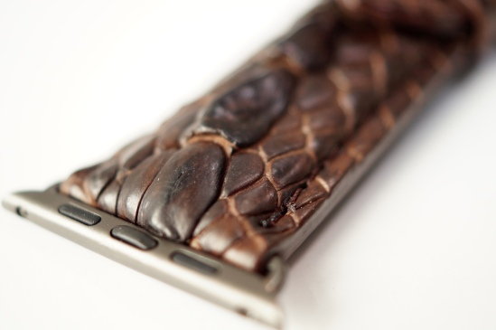 Mintapple Genuine Crocodile Apple Watch Strap 05
