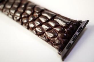 Mintapple Genuine Crocodile Apple Watch Strap 08