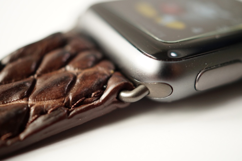 Mintapple Genuine Crocodile Apple Watch Strap 15