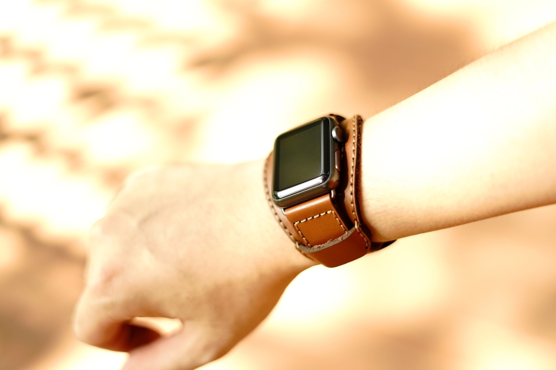 Black Forest Leather Cuff C3 02