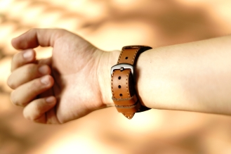 Black Forest Leather Cuff C3 06