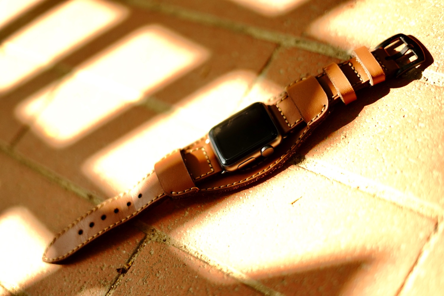 Black Forest Leather Cuff C3 10