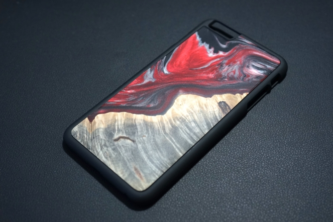 Carved Setellite iPhone Case 02