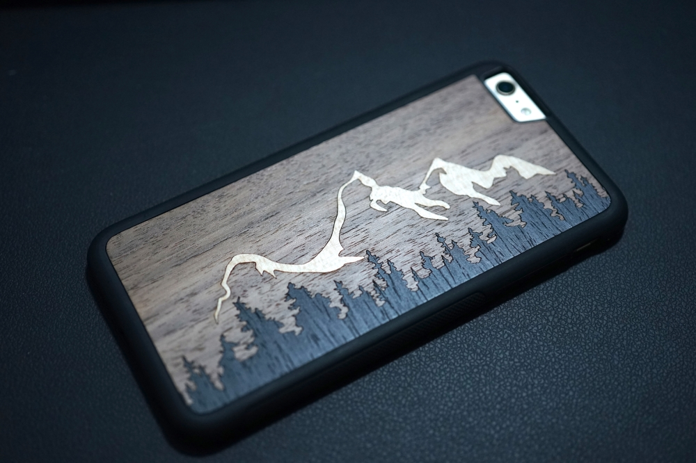 Carved Teton iPhone Case 02