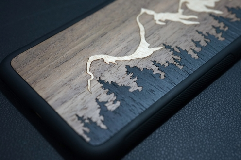 Carved Teton iPhone Case 04