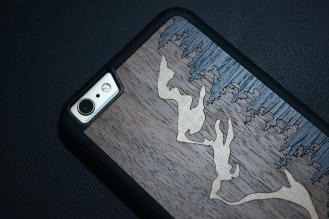 Carved Teton iPhone Case 05