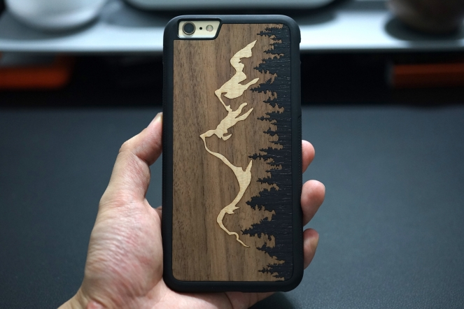Carved Teton iPhone Case 06