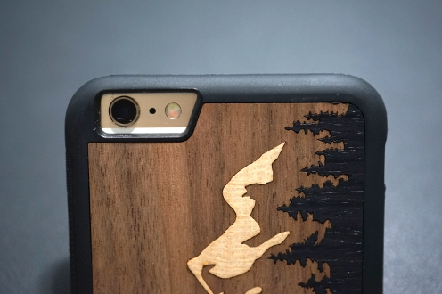 Carved Teton iPhone Case 09
