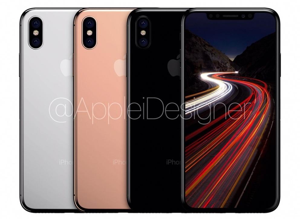appleidesigner iphone 8 render